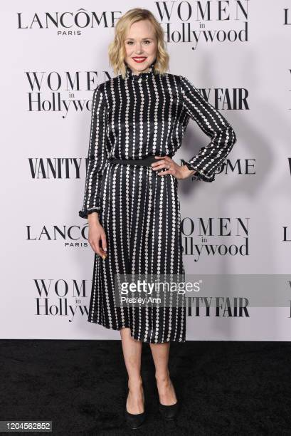 Alison Pill attends the Vanity Fair and Lancôme Women in Hollywood celebration at Soho House on February 06, 2020 in West Hollywood, California.