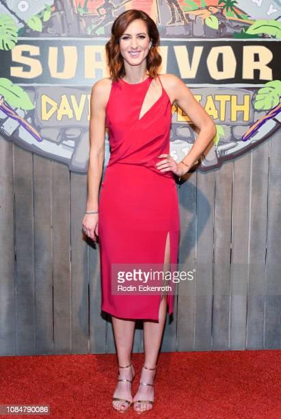 Alison Raybould attends the 'Survivor David Vs Goliath' Finale at CBS Televison City on December 19 2018 in Los Angeles California