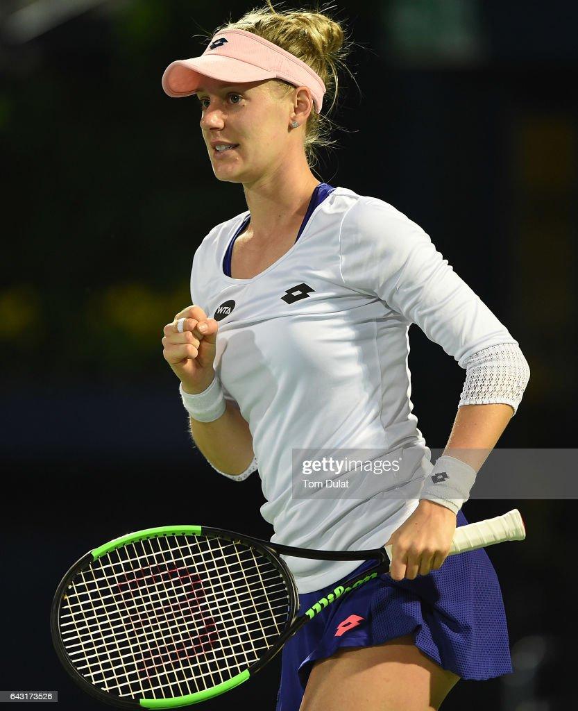 WTA Dubai Duty Free Tennis  Championship - Day Two