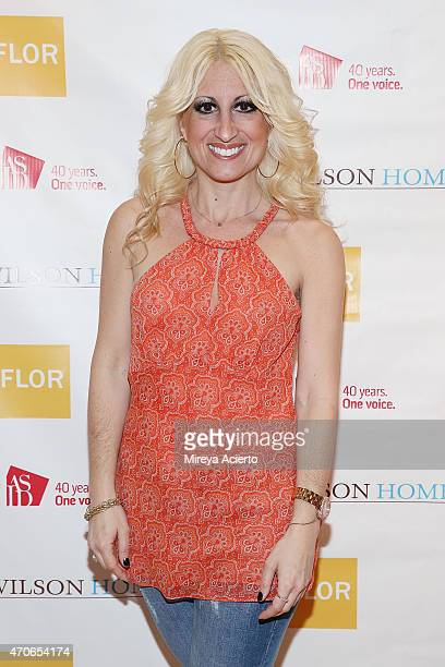 Alison Rodman attends the book signing of Clean Design at FLOR Design Store on April 21 2015 in New York City