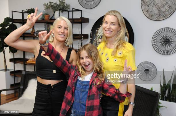 Alison Roman and Chloe Pollack Robbins attend the AD Bon Appetit and Delta Faucet toast of the Conde Nast Kitchen Studio on May 17 2018 in New York...