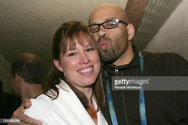 Alison Smith and Terence Blanchard during 2006 Sundance Film Festival BMI Dinner at Zoom in Park City Utah United States