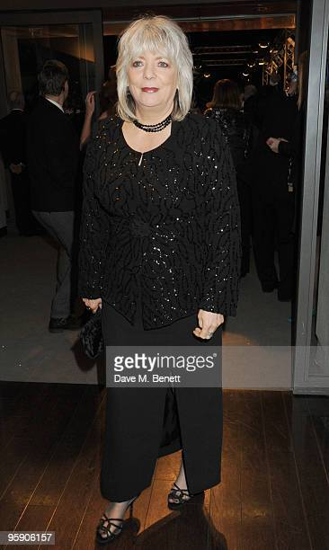 Alison Steadman arrives at the National Television Awards at the O2 Arena on January 20 2010 in London England