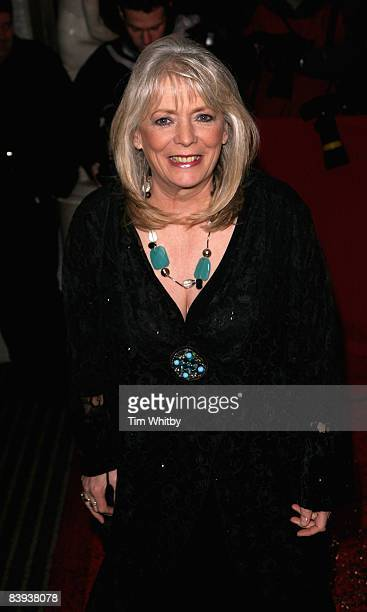Alison Steadman arrives for the Comedy Awards at London Terlevision Studios on 06 December 2008 in London England