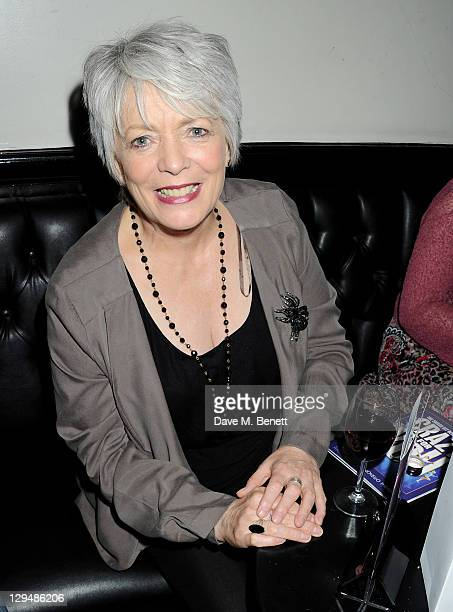 Alison Steadman attends an after party following Press Night of 'Crazy For You' at Jewel Covent Garden on October 17 2011 in London England