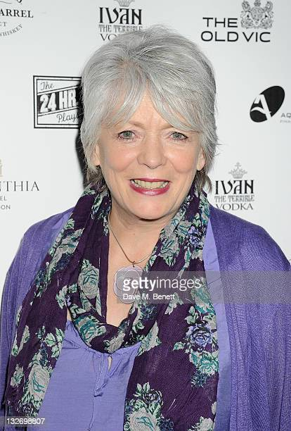 Alison Steadman attends the 24 Hour Plays Celebrity Gala Party at the Corinthia Hotel London on November 13 2011 in London England