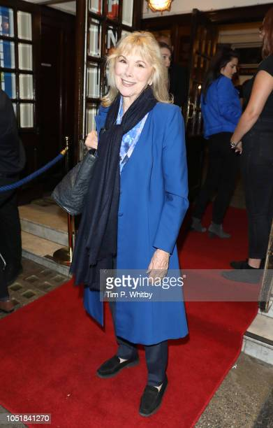 Alison Steadman attends the gala performance of 'Happy Birthday Harold' at Harold Pinter Theatre on October 10 2018 in London England