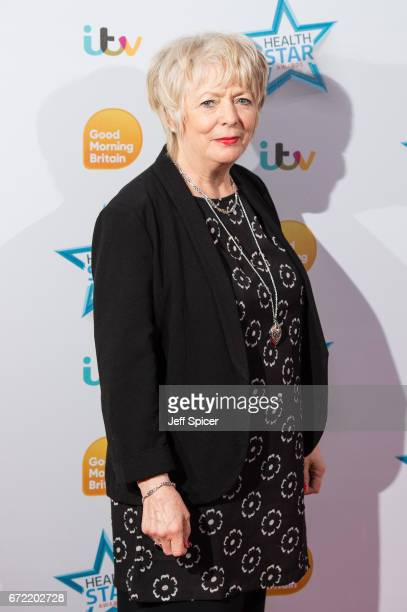 Alison Steadman attends the Good Morning Britain Health Star Awards at the Rosewood Hotel on April 24 2017 in London United Kingdom