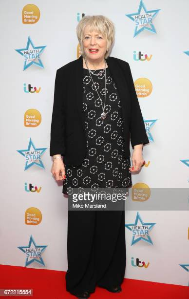Alison Steadman attends the Good Morning Britain Health Star Awards on April 24 2017 in London United Kingdom