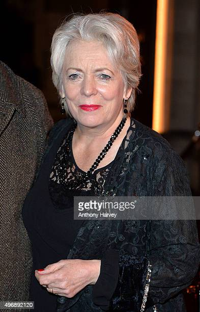 Alison Steadman attends the Park Theatre Annual Gala Dinner at Stoke Newington Town Hall on November 12 2015 in London England