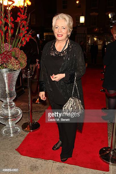 Alison Steadman attends the Park Theatre Gala 2015 at Stoke Newington Town Hall on November 12 2015 in London England