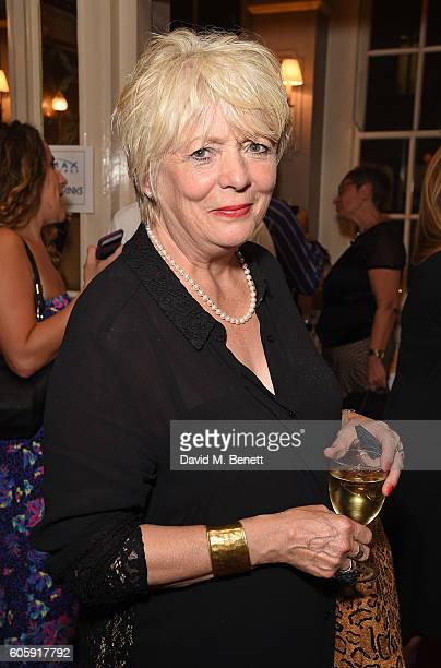 Alison Steadman attends the press night after party for 'David Baddiel My Family Not The Sitcom' at the Vaudeville Theatre on September 15 2016 in...