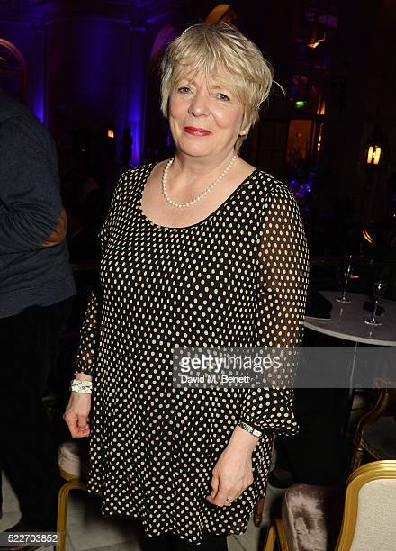 Alison Steadman attends the press night after party for 'Funny Girl' at The Waldorf Hilton Hotel on April 20 2016 in London England