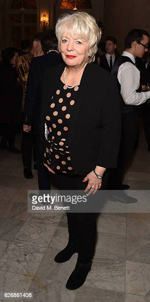 Alison Steadman attends the press night after party of 'This House' at The Waldorf Hilton Hotel on November 30 2016 in London England