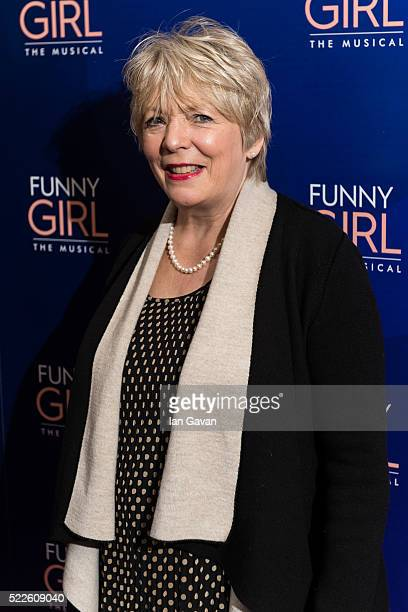 Alison Steadman attends the press night of 'Funny Girl' at The Savoy Theatre on April 20 2016 in London England
