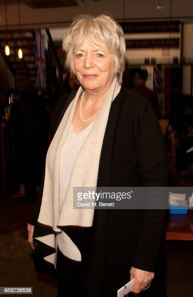 Alison Steadman attends the press night performance of 'Chinglish' at The Park Theatre on March 28 2017 in London England