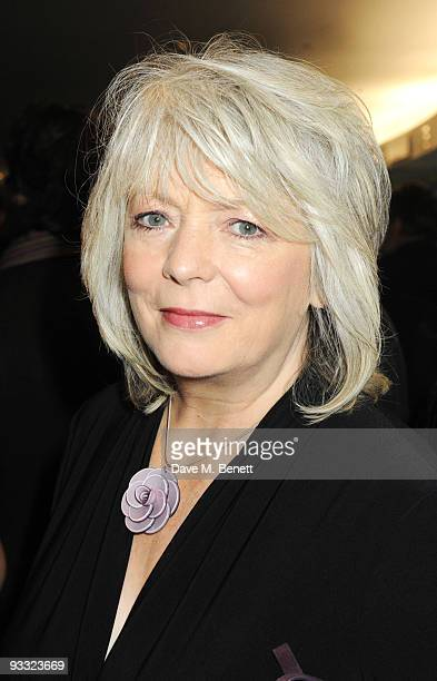 Alison Steadman attends the reception ahead of the London Evening Standard Theatre Awards at the Royal Opera House on November 23 2009 in London...