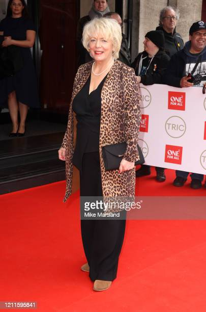 Alison Steadman attends the TRIC Awards 2020 at The Grosvenor House Hotel on March 10, 2020 in London, England.
