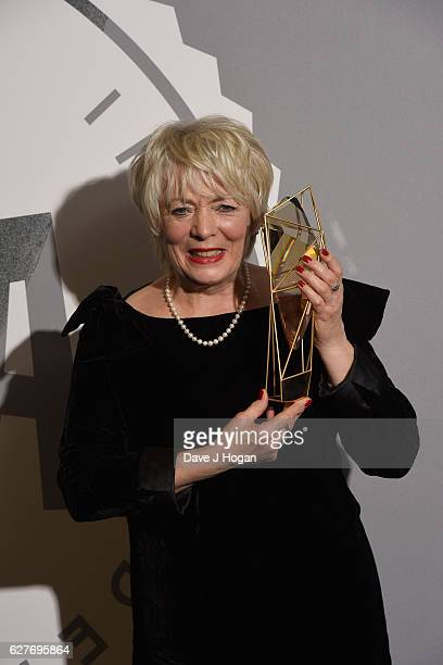Alison Steadman OBE poses at The British Independent Film Awards at Old Billingsgate Market on December 4 2016 in London England