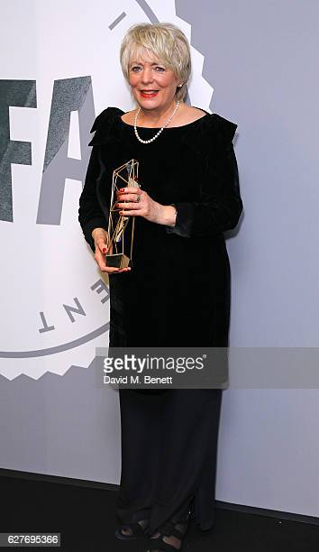 Alison Steadman poses at The British Independent Film Awards Old Billingsgate Market on December 4 2016 in London England