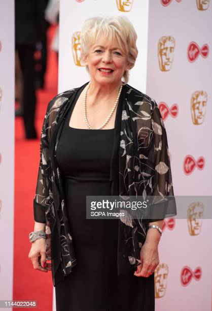 Alison Steadman seen on the red carpet during the Virgin Media British Academy Television Awards at The Royal Festival Hall in London
