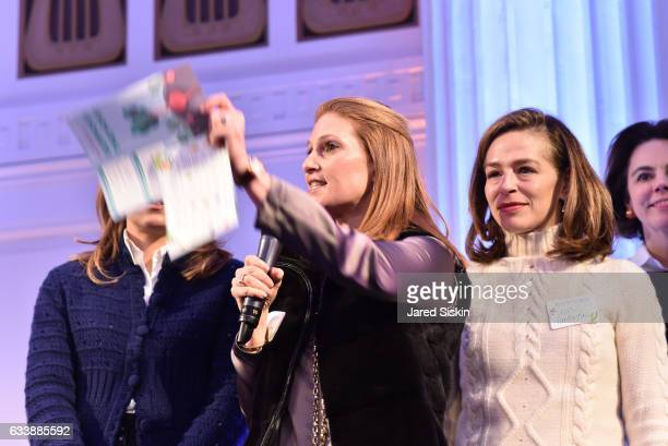 Alison Strong and Alatia Bradley Bach attend The Hort's 5th Annual Green Bean Bash at 583 Park Avenue on February 4 2017 in New York City