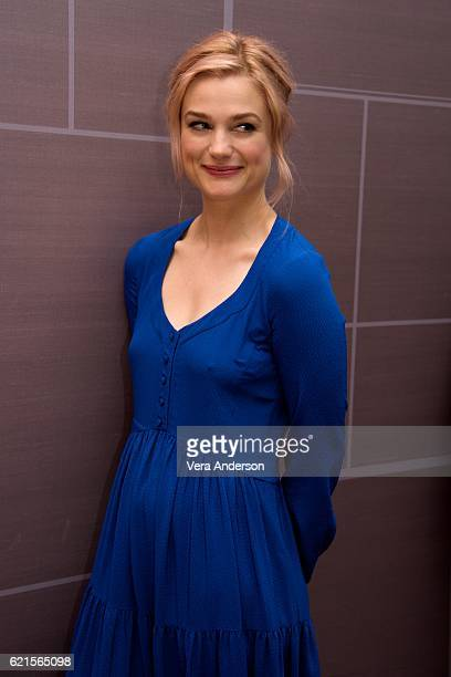 Alison Sudol at the 'Fantastic Beasts and Where to Find Them' Press Conference at the Four Seasons Downtown on November 6 2016 in New York City