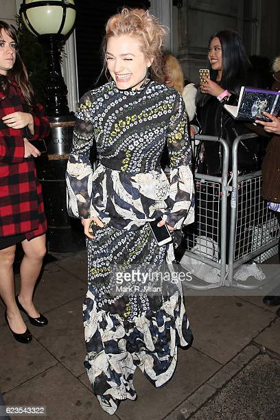 Alison Sudol attending the Fantastic Beasts premiere after party at The Grand Connaught rooms on November 15 2016 in London England