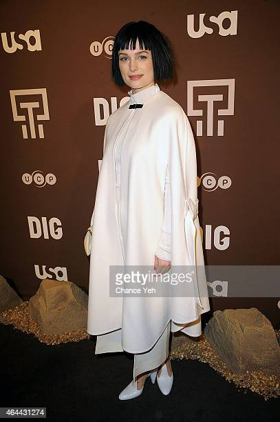 Alison Sudol attends 'Dig' Series New York Premiere at Capitale on February 25 2015 in New York City