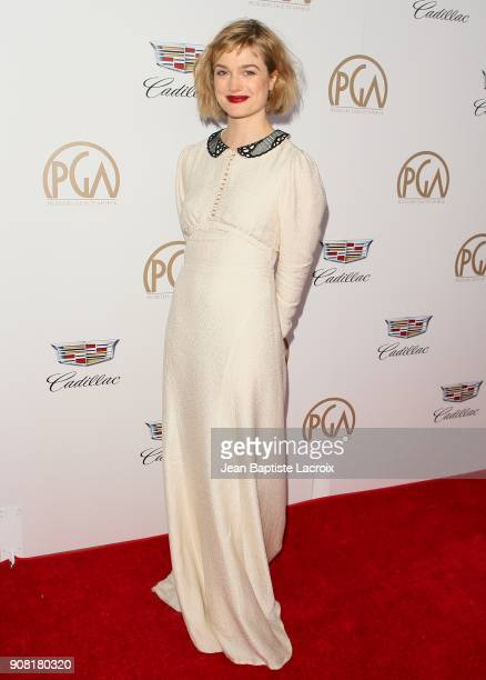 Alison Sudol attends the 29th Annual Producers Guild Awards at The Beverly Hilton Hotel on January 20 2018 in Beverly Hills California