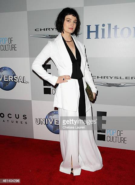 Alison Sudol attends the NBCUniversal 2015 Golden Globe Awards Party sponsored by Chrysler at The Beverly Hilton Hotel on January 11 2015 in Beverly...