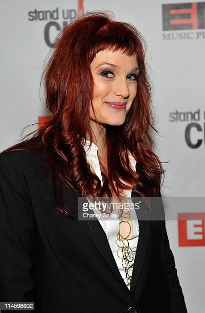 Alison Sudol of A Fine Frenzy attends EMI/Stand Up For A Cure Post Grammy event held at SLS Beverly Hills Hotel on February 8 2009 in Los Angeles...