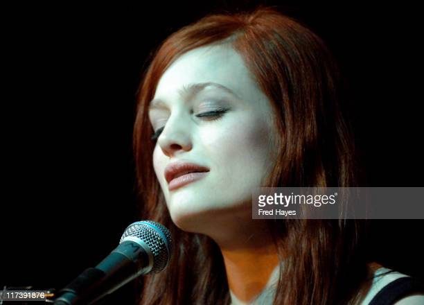 Alison Sudol of A Fine Frenzy during 2007 Sundance Film Festival ASCAP Music Cafe Day 5 at The Star Bar in Park City Utah United States
