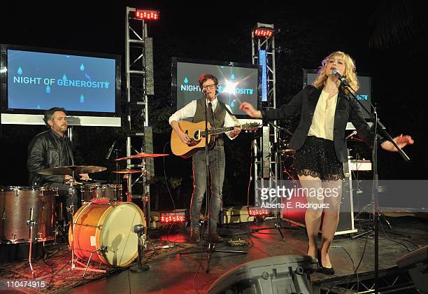 Alison Sudol of A Fine Frenzy performs at Generosity Water's 3rd Annual 'Night of Generosity' benefit on March 18 2011 in Los Angeles California