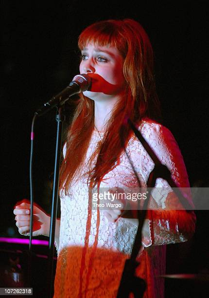 Alison Sudol of A Fine Frenzy performs on September 3 2007 at The Fillmore New York at Irving Plaza in New York City