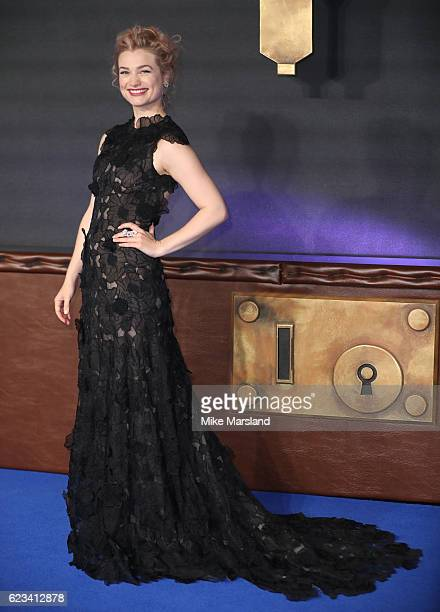 Alison SudolAlison Loren Sudol attends the European premiere of 'Fantastic Beasts And Where To Find Them' at Odeon Leicester Square on November 15...