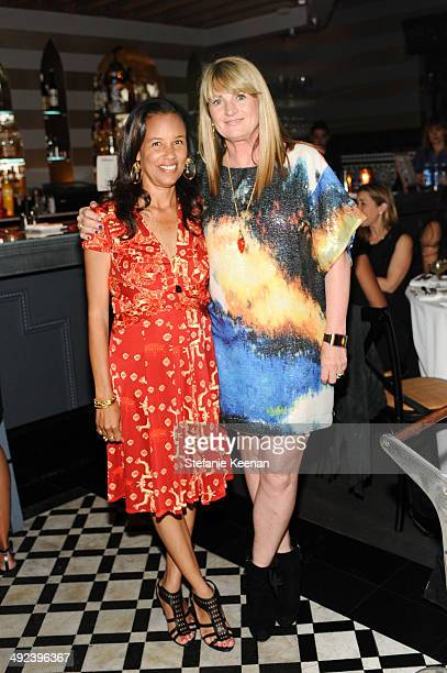 Alison Swan and Marilyn Heston attend LAXART UNGALA Presented By Phillips on May 19 2014 in Los Angeles California