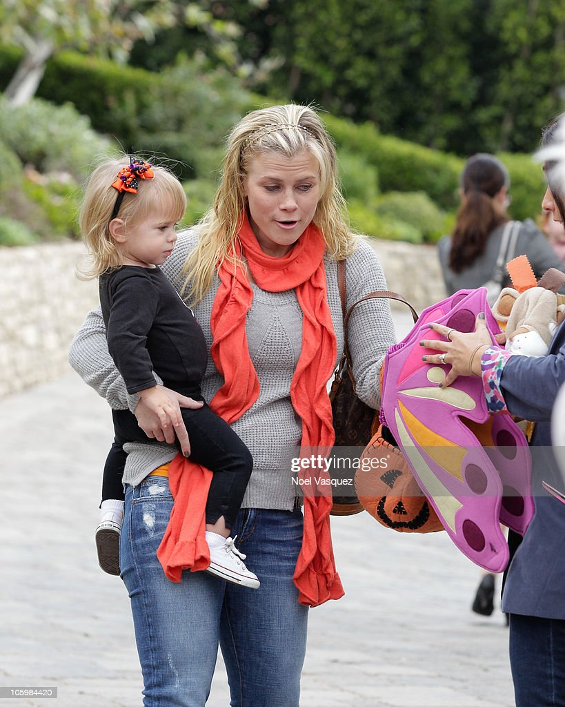 Alison Sweeney And Her Daughter Megan Sanov Attend The