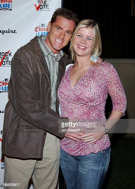 Alison Sweeney and husband Dave Sanov during Esquire Magazine Hosts Young Hollywood Votes at The Esquire House Los Angeles in Beverly Hills...
