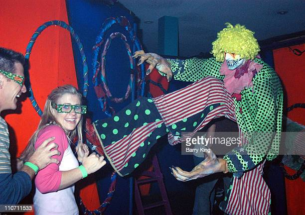 Alison Sweeney and Judi Evans in Carnivorous Clown Maze
