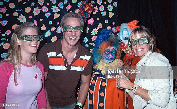 Alison Sweeney and Kyle Lowder and Arianne Zuker in Carnivorous Clown Maze