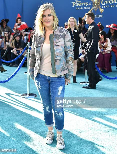 Alison Sweeney arrives at the Premiere Of Disney's 'Pirates Of The Caribbean Dead Men Tell No Tales' at Dolby Theatre on May 18 2017 in Hollywood...