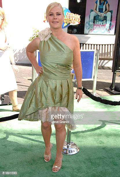 """Alison Sweeney arrives at the Premiere Of Universal Pictures' """"The Incredible Hulk"""" on June 8, 2008 in Universal City, California."""