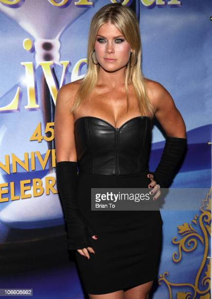 "Alison Sweeney attends ""Days Of Our Lives"" 45th anniversary party at House of Blues Sunset Strip on November 6, 2010 in West Hollywood, California."