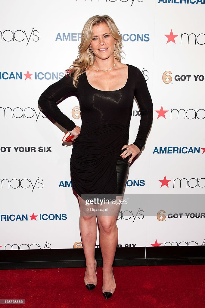 Alison Sweeney attends Macy's 'American Icons' Campaign Launch at Gotham Hall on May 14, 2013 in New York City.
