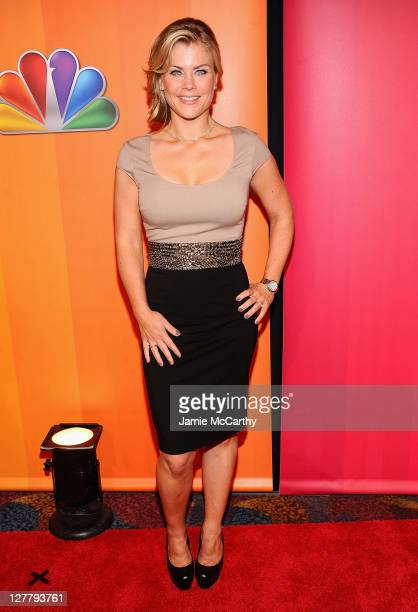 Alison Sweeney attends the 2011 NBC Upfront at The Hilton Hotel on May 16 2011 in New York City