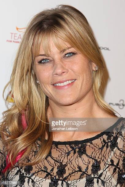 Alison Sweeney attends the Raising The Bar To End Parkinson's on December 5 2012 in Culver City California