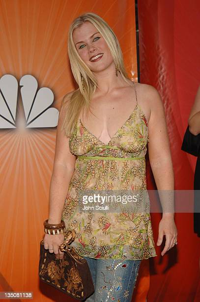Alison Sweeney during 2005 NBC Network All Star Celebration Arrivals at Century Club in Los Angeles California United States