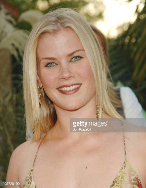 Alison Sweeney during 2005 NBC Network All Star Celebration at Century Club in Century City California United States
