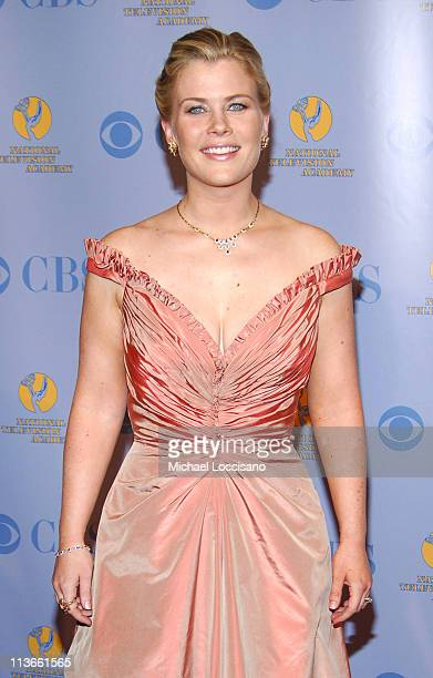 Alison Sweeney during 32nd Annual Daytime Emmy Awards Press Room at Radio City Music Hall in New York City New York United States